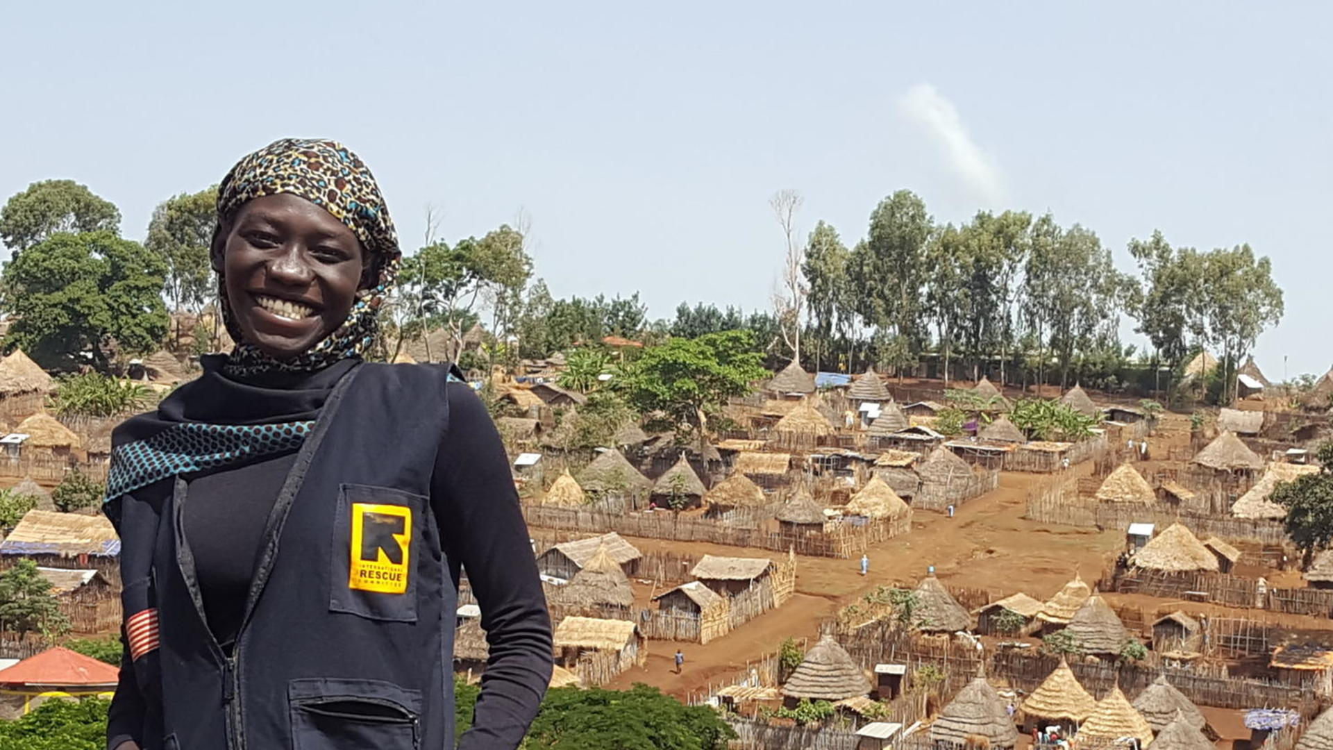 Hafiza in Tongo refugee camp in Ethiopia