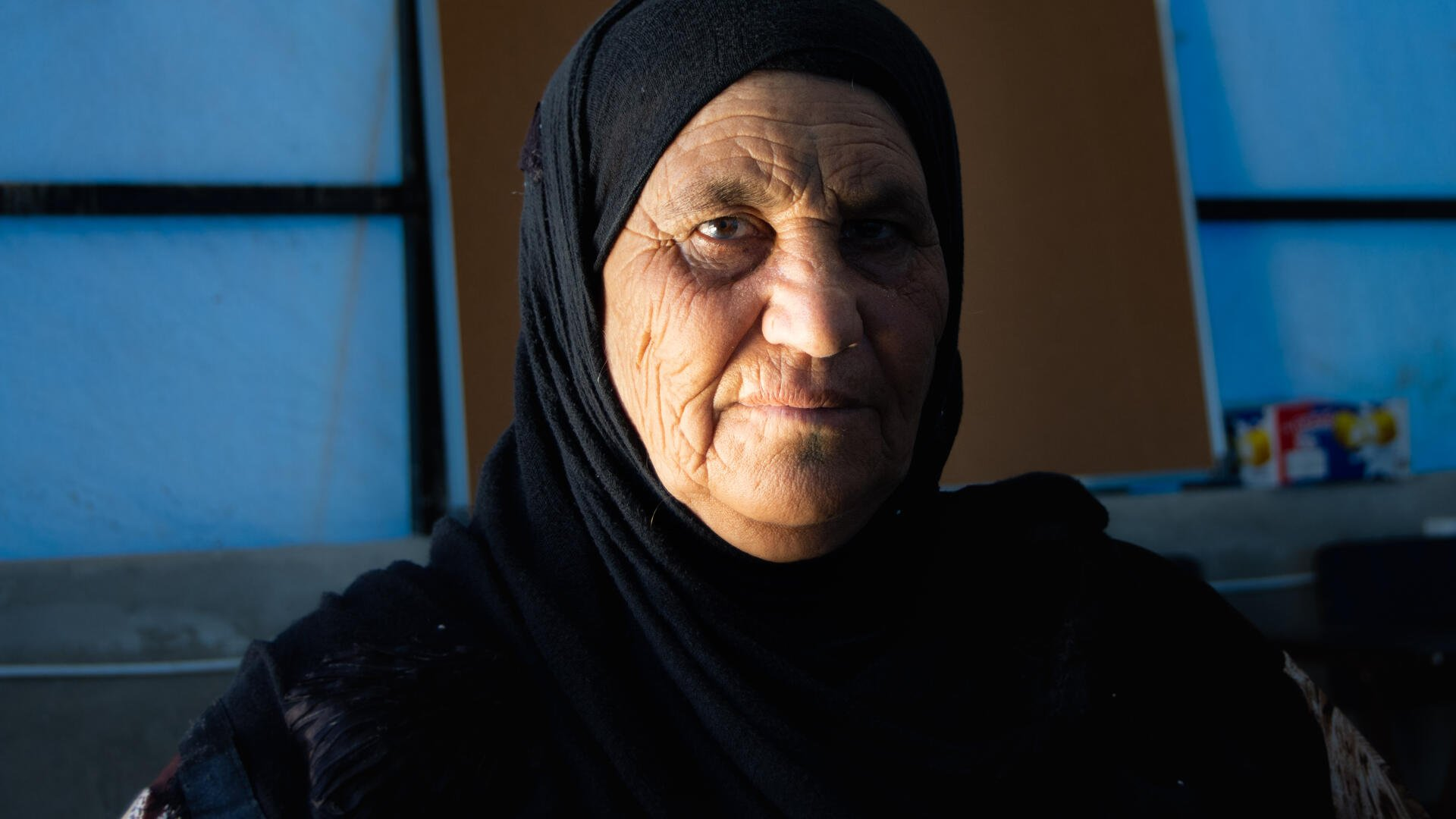 Hila fled Deir ez-Zor after the area was besieged by ISIS and her home was destroyed