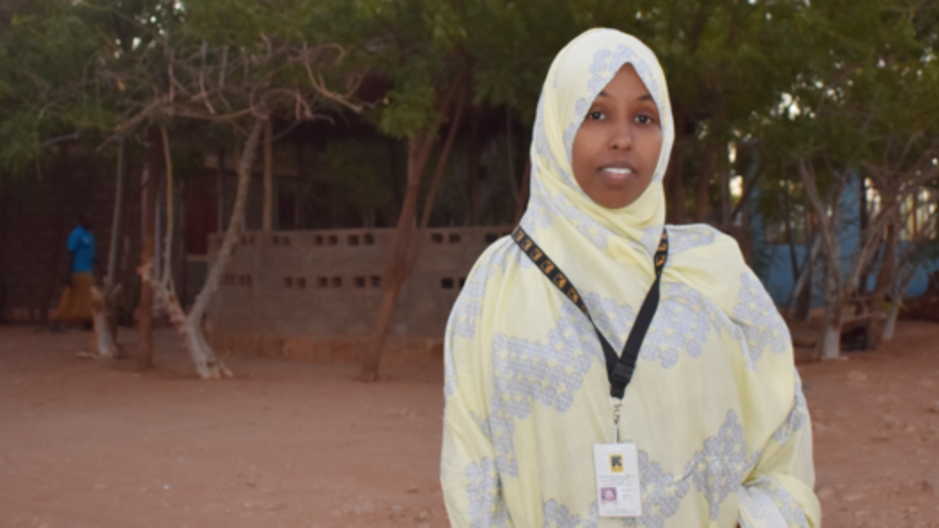 Ifrah, a Women's Protection and Empowerment Program Officer for the IRC in Ethiopia