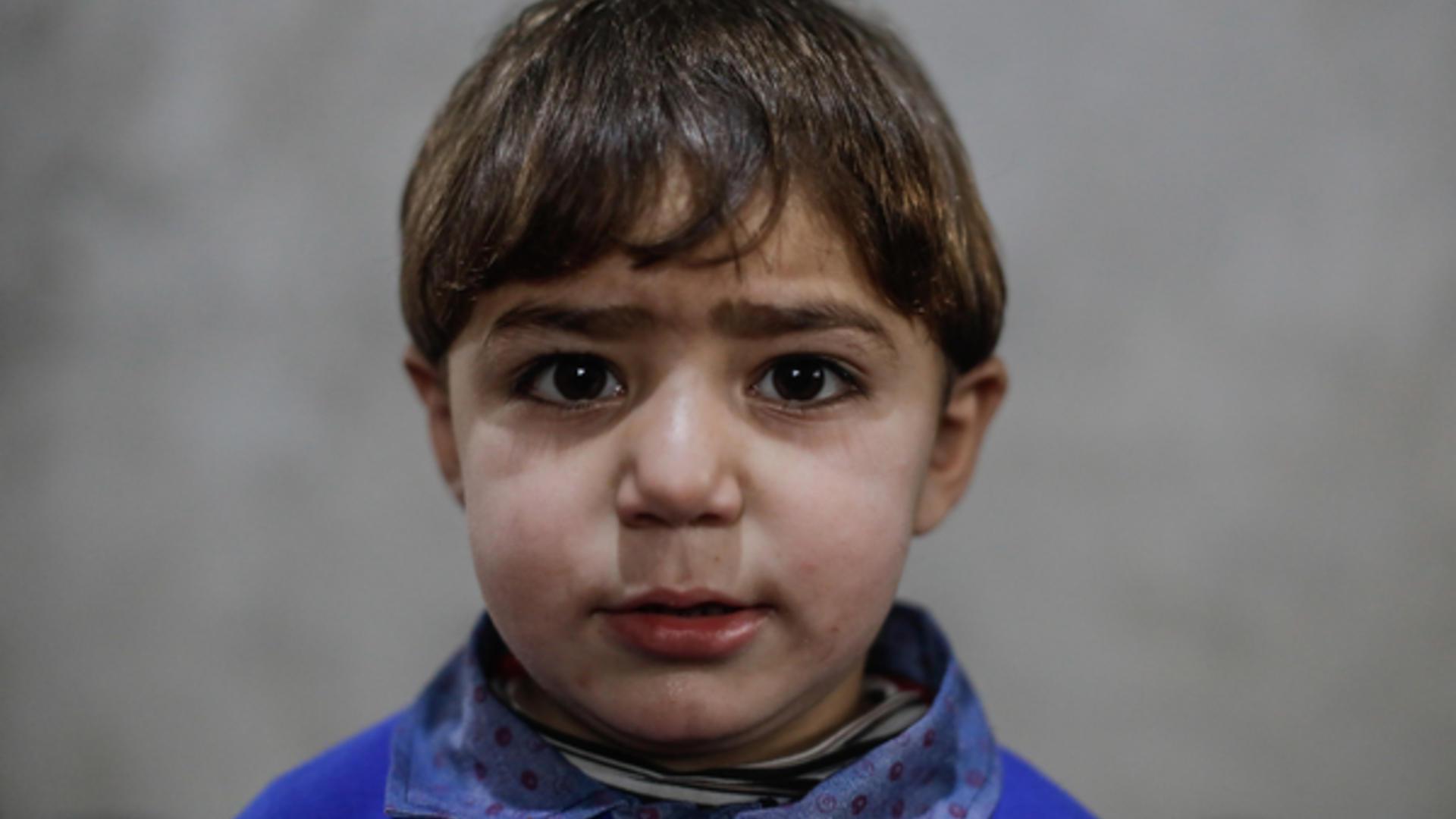 Syrian boy in Idlib