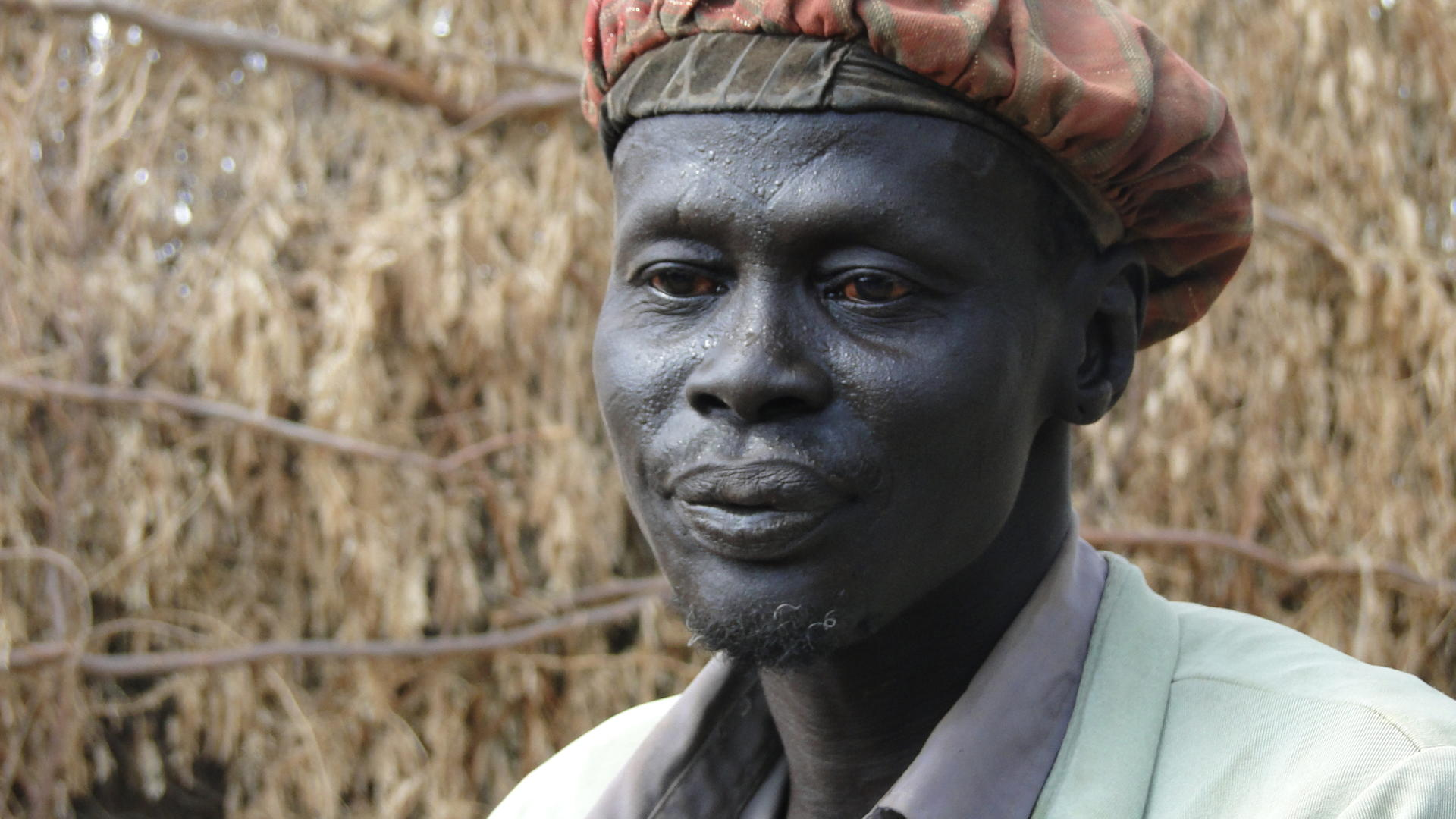 Daniel, former Sudanese solider, suffers from post-traumatic stress