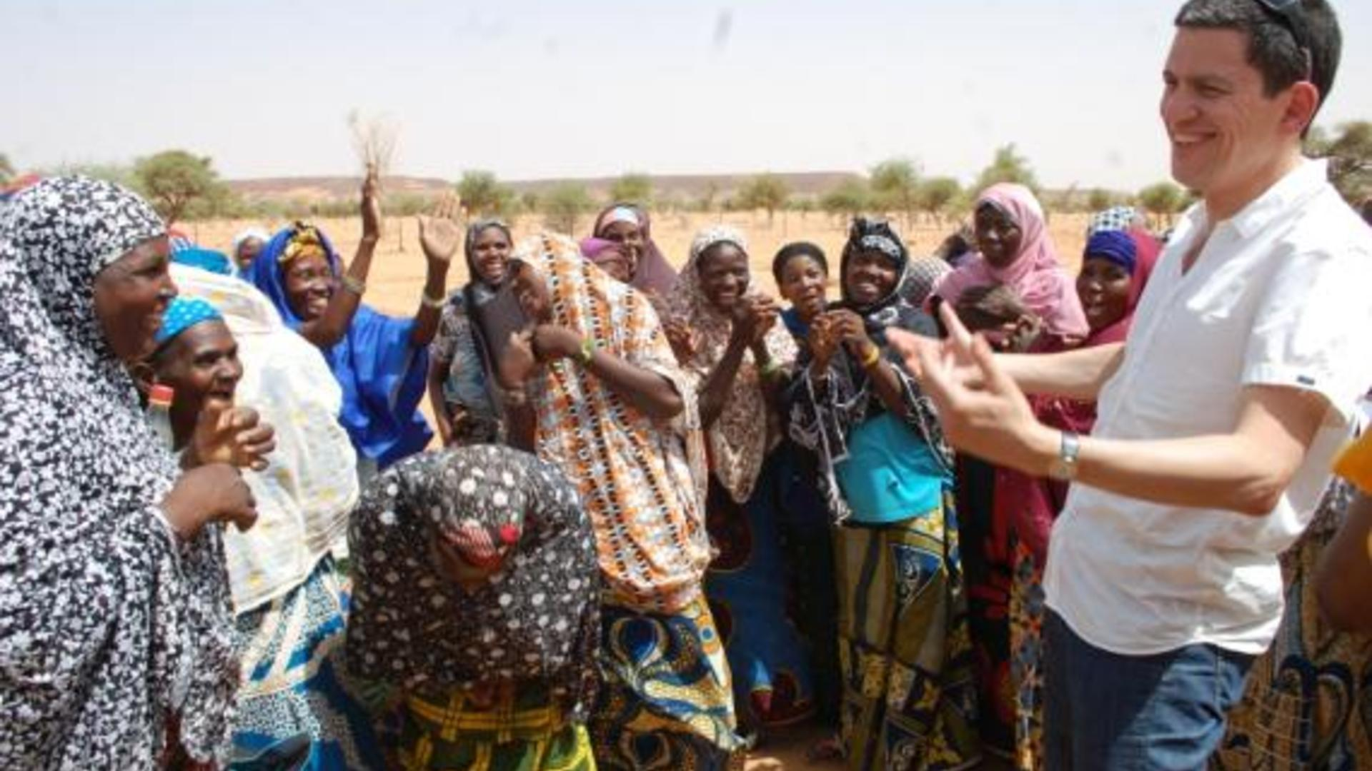 International Rescue Committee president David Miliband visited Nigerian refugees in Niger, where more than 150,000 have found safety after fleeing ongoing violence in their country.