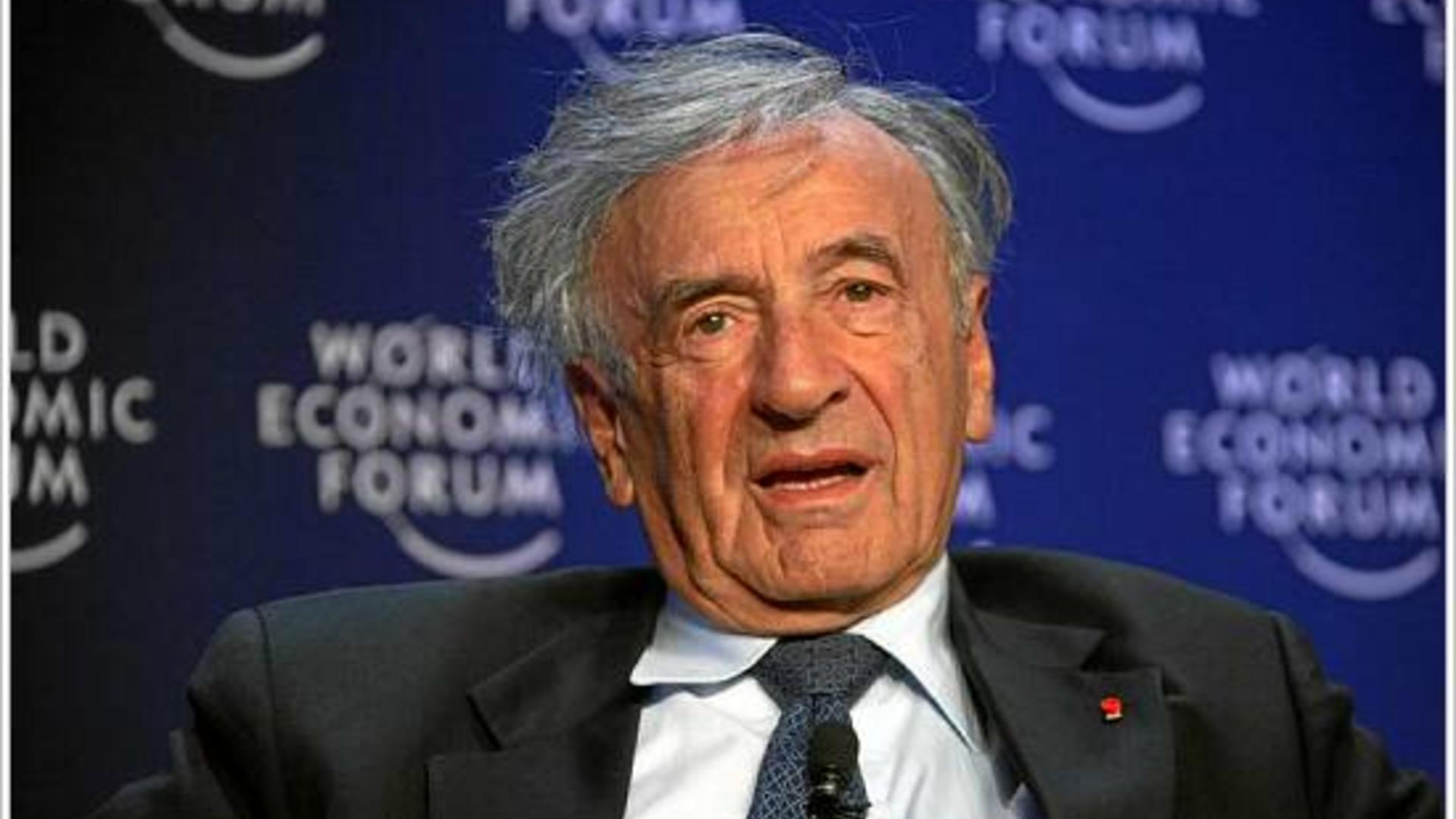 Elie Wiesel in 2007